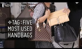 TAG: Five Most Used Handbags  |  Style Minded