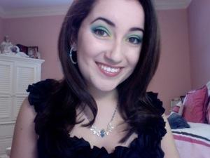 did my makeup based on a  jazziebabycake's makeup tutorial :)