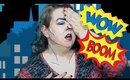 Easy Comic Pop Art Halloween Makeup Tutorial