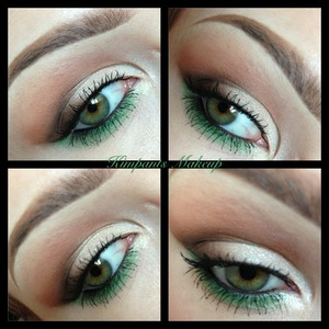 Check out my tutorial on how to create this eye look - its in my videos section or www.youtube.com/kimpantsmakeup