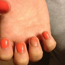 daughters mani coral and nude