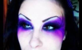 Dark Fairy Halloween Makeup