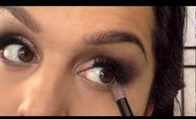 New Years Eve Makeup Look, UD Naked 1 Palette (Collaboration with Siham Y)