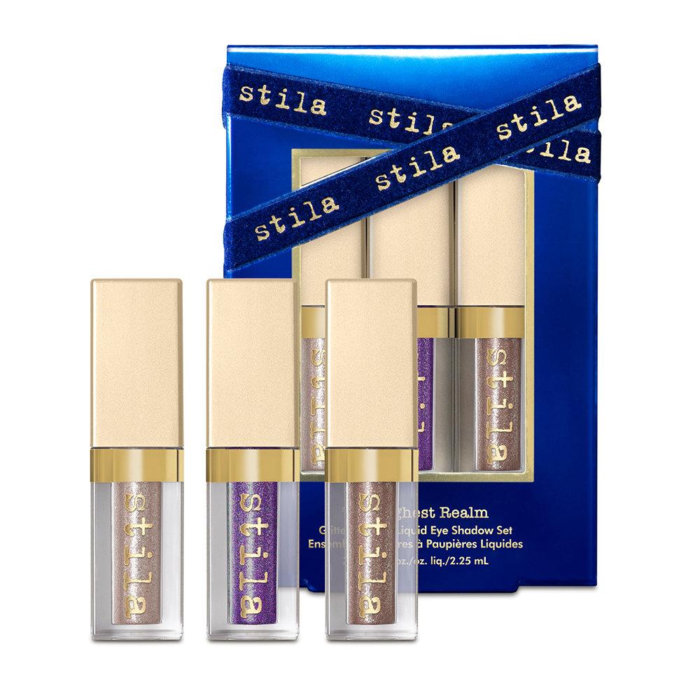 Stila Cosmetics The Highest Realm Glitter & Glow Liquid Eye Shadow Set