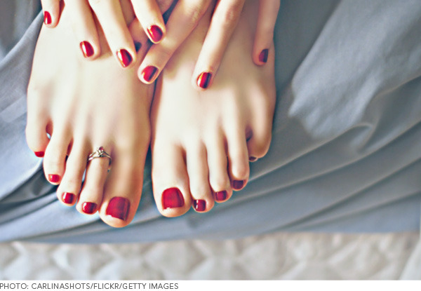 Have removed summer rae feet