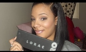 Another Brown look using Lorac pro pallet