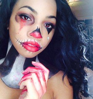 Desi Perkins Inspired Halloween Makeup Beautylish