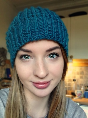 It's cold here :) so put on your beanie and your pretty face and hang in there 'til summer decides to come back!