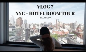 VLOG 7 - NEW YORK CITY! CITIZEN M BOWERY HOTEL ROOM TOUR