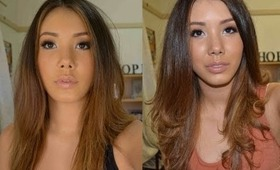 From Drab to Fab! Straight hair with some flare!
