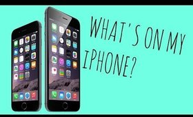 WHATS ON MY iPHONE 6?!📱⌚️