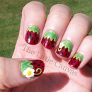 Strawberry Nail Art