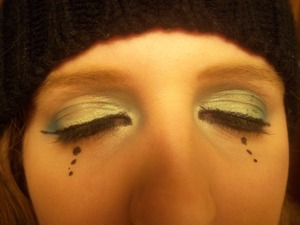 Kerli inspired eyes, closed