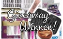♥ 2012 Favorites Giveaway Winner! ♥