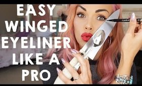HOW TO DO WING EYELINER LIKE A PRO