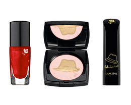 Kate Winslet's Golden Hat Foundation Holiday Collection For Lancome