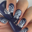 Nail stamping with Bundle Monster BM-612