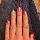 First attempt at doing my own nails
