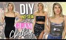 *NO-SEW* DIY GLAM CLOTHING | 2018 Clothing Hacks You Need To Know!