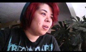 Vlog: weightloss, analytics, hair news, rut