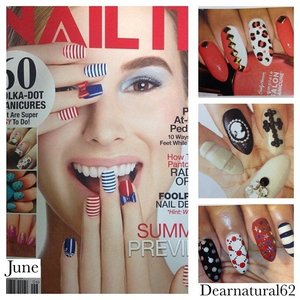 Did u get ur June Issue of @NailitMag - I'm Featured in it, YAY!