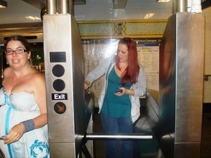 Turnstyle in NY Subway