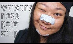 Reviews | Watsons Nose Pore Strips | Skincare