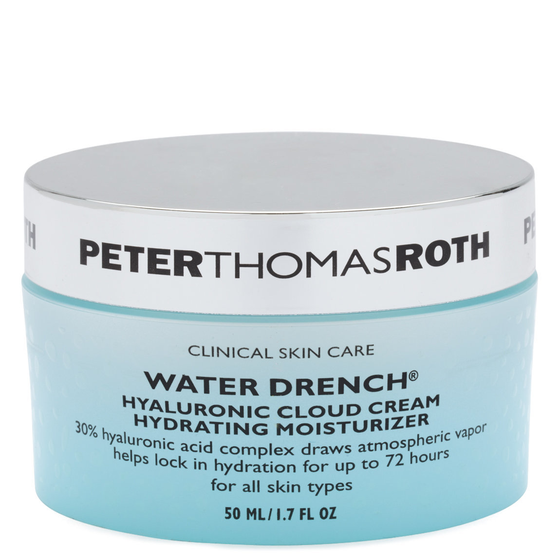 Peter Thomas Roth Water Drench Hyaluronic Cloud Cream Hydrating Moisturizer 1.7 oz alternative view 1 - product swatch.