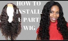 How I Install My U-Part Wig - Feshfen HAIR
