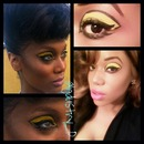 Tyra Banks Inspired Eye Shadow