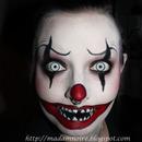 Psycho killer clown
