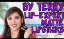 By Terry Lip Expert Matte Liquid Lipsticks Swatches, Review, Demo