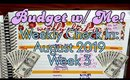 Budget With Me | Week 3 Check In | August 2019 | Paycheck to Paycheck Budget | Debt Avalanche