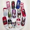 My Xmas nail designs
