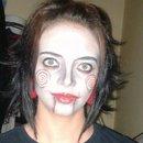 Saw Halloween Makeup