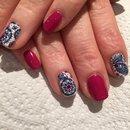 Mandala nail wraps