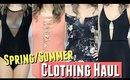 Summer TRY-ON Clothing Haul 2017 incl. Bodysuit Haul, & Summer Swimsuit try-on Haul ft thong bikini