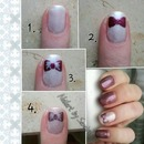 Tutorial: sweet bow nails