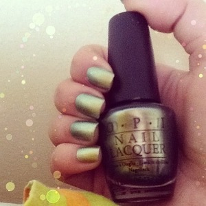 Did a manicure :-* go grab this color 4m ur local store...