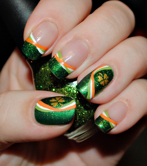 Irish Pride --- check out my video's for a tutorial on this design :)