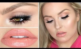 Get Ready With Me ♡ Smokey Lashes & Heavy Contouring!
