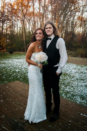 Our special day we became one. 11.12.13. <3