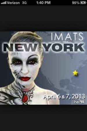 Come meet me Saturday April 6 at imats NYC I will be there come say hi and take pictures would love to meet you all <3