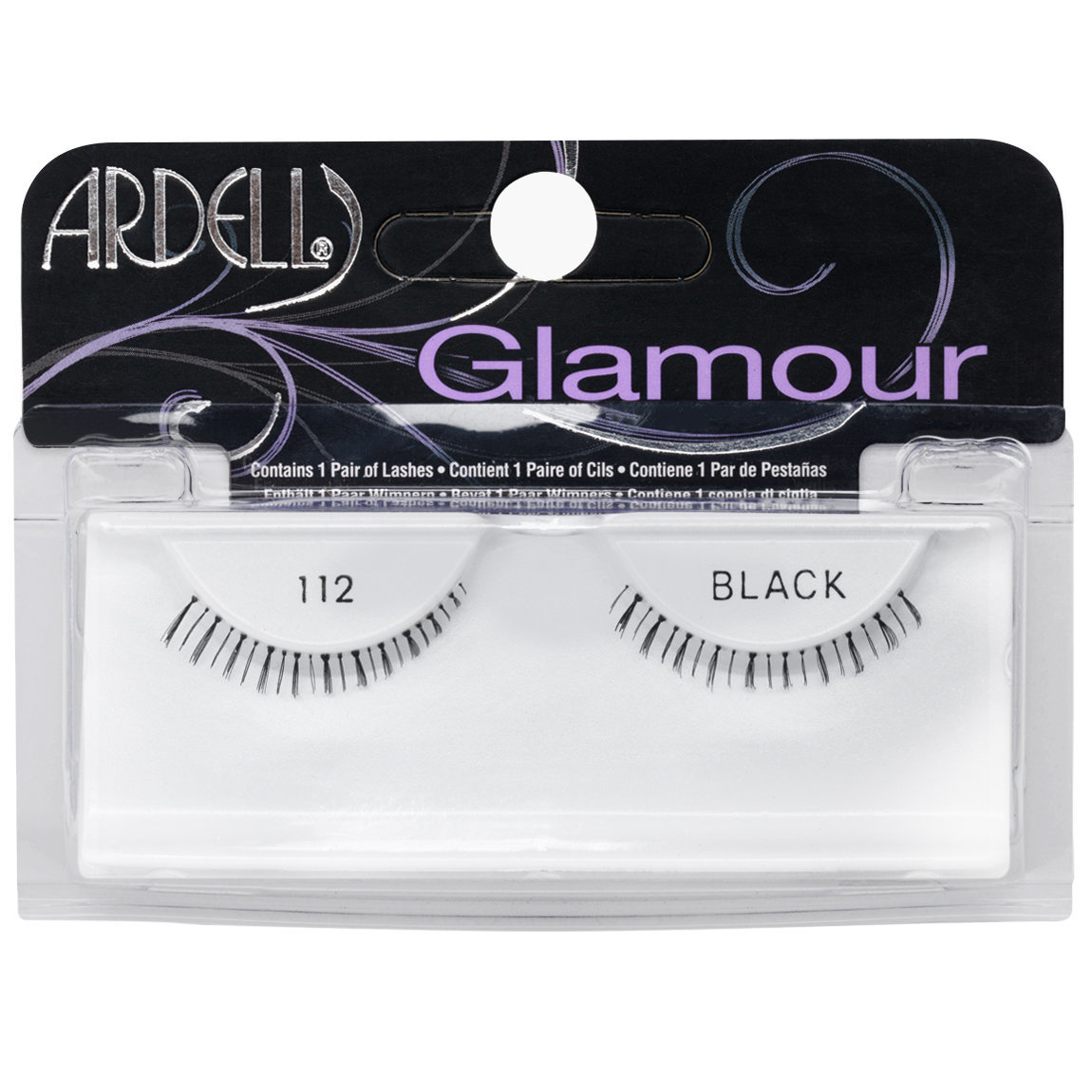 Ardell Glamour Lashes 112 Black