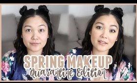 EASY Spring Makeup Tutorial (Quarantine Edition)