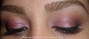 UDPP, Coastal Scents 88 Metal Mania palette, UD, Naked Palette, Stila Smudge Pot (black), Revlon Lashes, Benefit Badgal