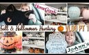 PART 1 : Fall Halloween Hunting Vlog FEAT Joanns & Homegoods