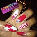 X-Mas Nails by Dearnatural62
