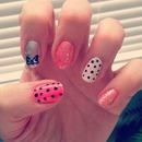 polka dots and bows :)