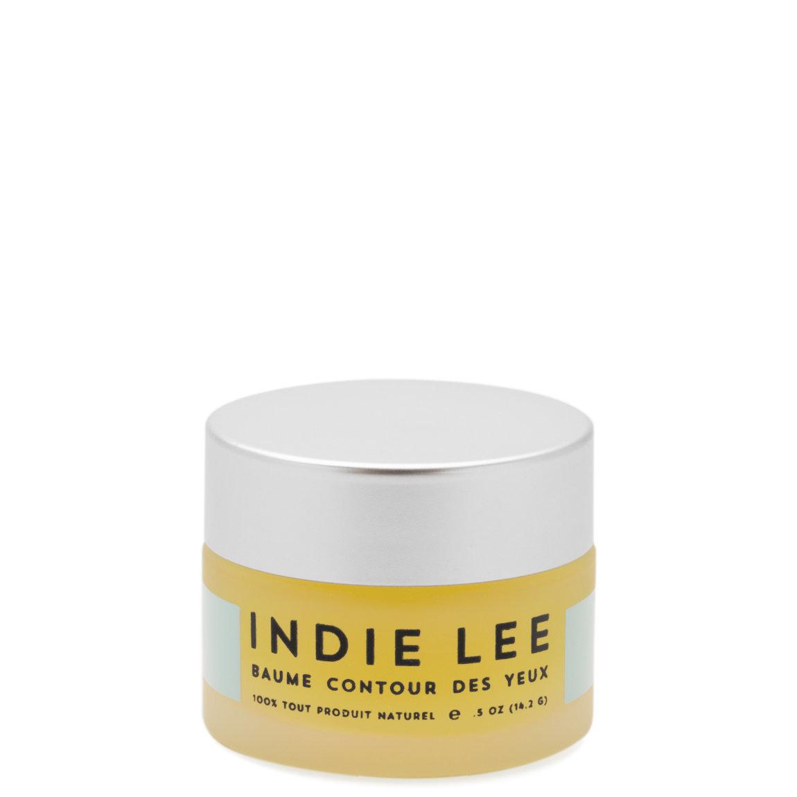 Indie Lee Calendula Eye Balm product swatch.